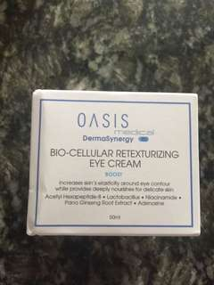 全新 Oasis Medical DermaSynergy Bio-Cellular Retexturizing Eye Cream 50ml
