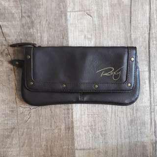 Brand new brown Roxy wallet