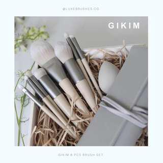 GIKIM 8 Pcs Brush Set (With Pouch)