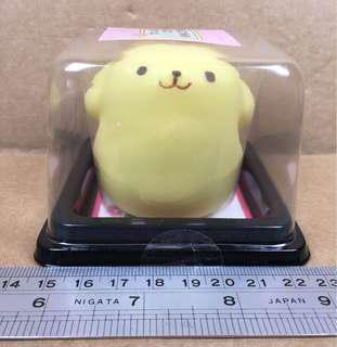 Sanrio PomPomPurin 布甸狗 和菓子造型 公仔 685674
