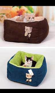 Cat bed - Promotion at $ 19/-  Usual price $26