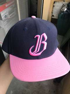 🚚 九成新 兄弟象 棒球帽 女孩日 粉紅色