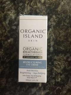 全新 Organic Island Restructuring Eye Crème cream 30 ml