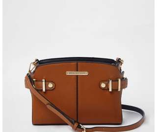 River island tab side crossbody bag
