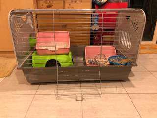 🐰: (USED) Rabbit Cage