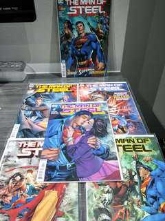 Man of Steel Connecting Covers Set