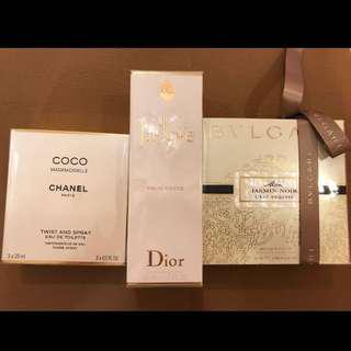 🚚 Dior jadore bvlgari 寶格麗 chanel coco