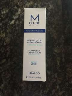 全新 Thalgo M Ceutic  Normalizer Cream-Serum 50ml
