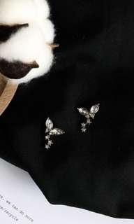 花瓣耳環(夾式耳環)