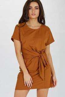 Peppermayo Tidal Dress - Brown