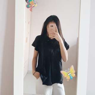 Black sparkly Blouse