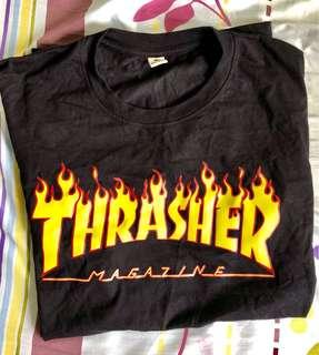 Thrasher Black T-Shirt