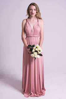 Pink Multiway Infinity Dress