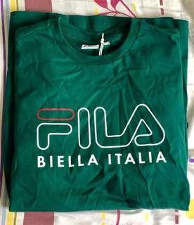 Authentic Fila Green T-Shirt