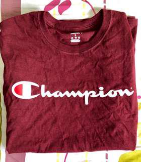 Authentic Champion Red T-Shirt