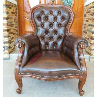 🆕 Wing Chair Kayu Jati (2 pcs)