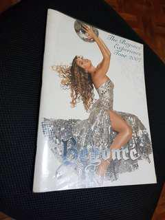 Beyonce the beyonce experience tour book program