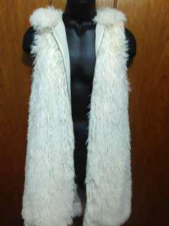 Soft faux fur vest