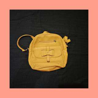 REPRICED! Two Way Mustard Bag