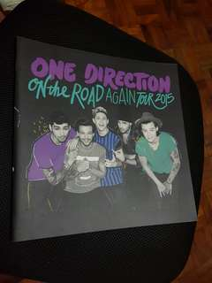 One direction on the road again tour 2015 tour book program