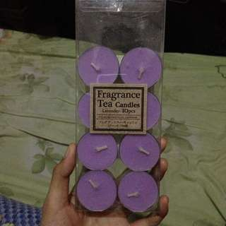 Daiso Lavender Candle
