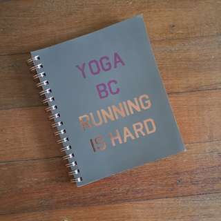 BNEW Typo Notebook