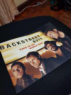 Backstreet boys this is us world tour tour book program