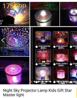 Night Sky Projector for Kids