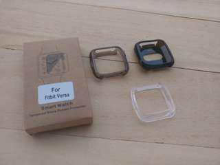 🚚 Fitbit Versa Screeb Guard Bumper Tempered Glass