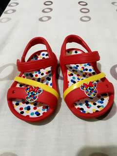 Pre-loved Minnie Mouse Crocs
