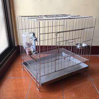 🚚 寵物寶高級不鏽鋼犬貓籠
