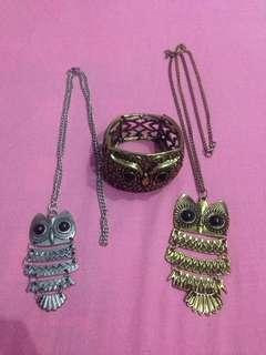 Owl accessories 👓💍💅👒