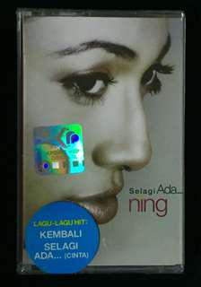 NING BAIZURA - Selagi Ada 2003 Warner Music Cassette