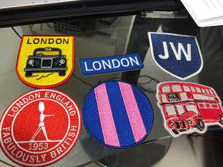 Jack Wills Iron On Patches