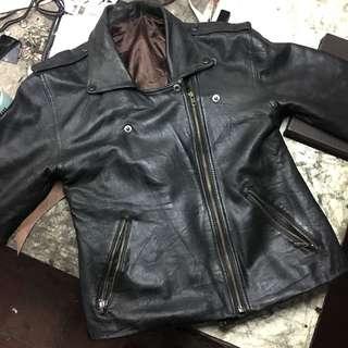 Rockabilly Leather Jacket