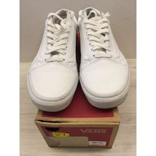 VANZ Leather White Sneaker