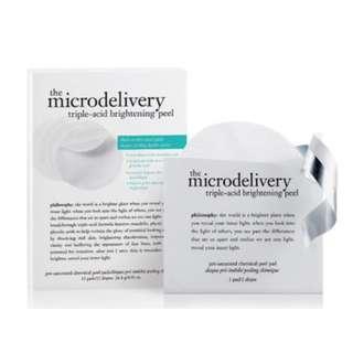 Philosophy The Microdelivery Triple-Acid Brightening Peel RRP$95