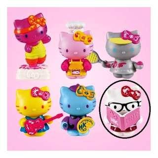 罕見 Mcdonalds 麥當勞 2013年 Chile, Guatemala, Brazil, Uruguay & Colombia 外地限定版 Hello Kitty 1款