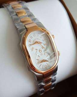 Size 1 Dual Time Steel Two Tone