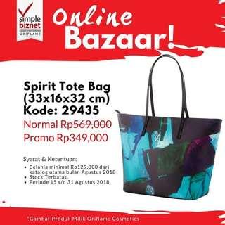 Spirit Tote Bag Oriflame Tas Oriflame