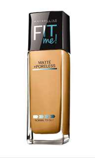 🚚 Authentic Maybelline Fit me! Foundation Matte + Poreless Shade 310 Sun Beige