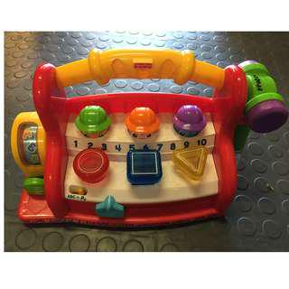 Fisher price laugh & learn learning toolbench