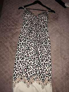 Ladies leopard dress