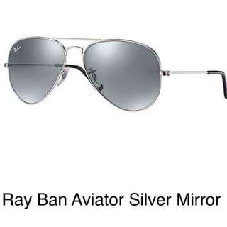 Ray-Ban Aviator Silver Mirror