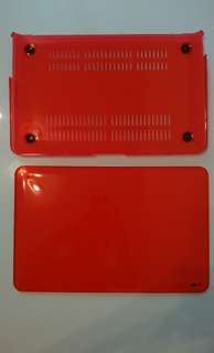 """Hot Red Macbook Air 11""""inch Cover"""