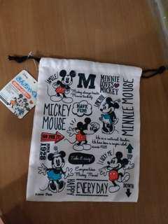 Mickey & Minnie 索繩袋