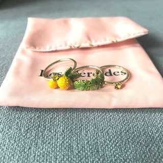 Les nereides mimosa earrings