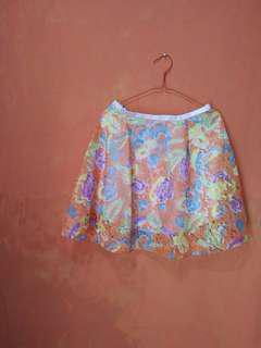 Skirt flowers@100