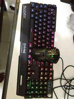 Di obral keyboar dan mouse makro