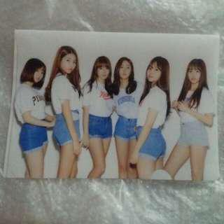 GFriend 2017 Season Greeting clear file